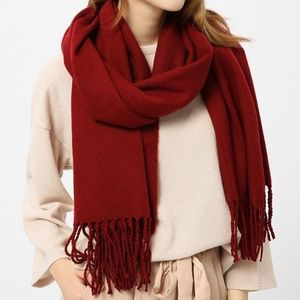 Accessories - Soft Red Cashmere Scarf NWT